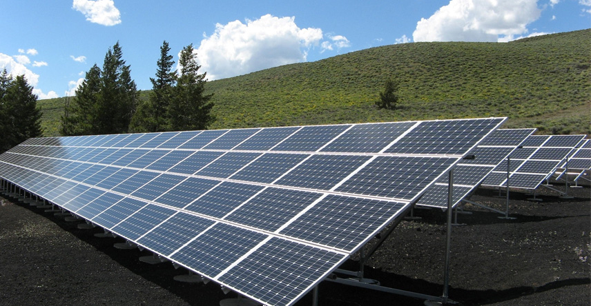 Farms and solar panel installation